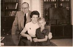 Ernst und Fanny (später Rachel) Bensinger, geb. Kamm mit Sohn Ethan