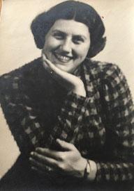 Fanny (später Rachel) Bensinger, geb. Kamm, geb. 16.07.1912 in Fulda