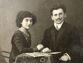 Thekla Kamm, geb. Sichel, geb. am 17.05.1886 und Willy Kamm, geb. am 03.12.1884