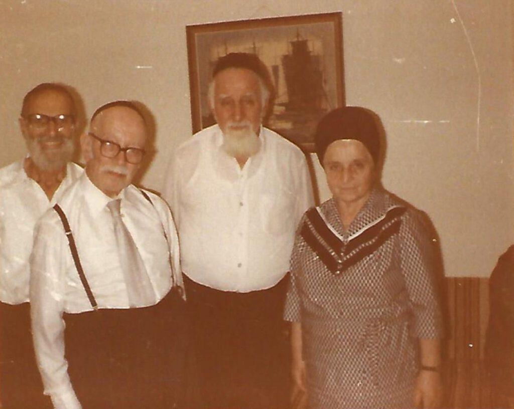 von links nach rechts: Benjamin, Simon, Juda und Auguste