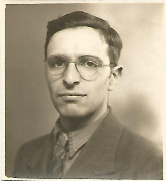 Benjamin Eschwege, ca. 1949