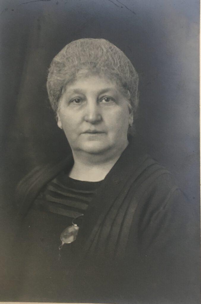 Sara Sichel, geb. Blum und am 07.05.1863 in Würzburg geboren (Jacobs 2. Frau)