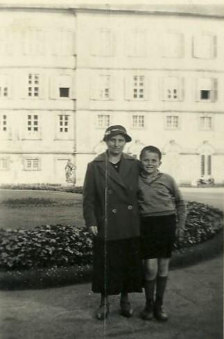Gerda und Josef Braunold, 1934