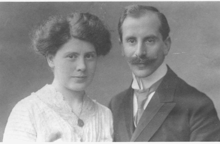 Dina Löbenberg und ihr Ehemann Alfred Meyerhof