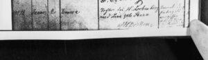 Auszug aus dem Geburtsregister - Emma Löbenberg; Quelle Hessisches Hauptstaatsarchiv, HHStAW Abt. 365 Nr. 345, S. 131