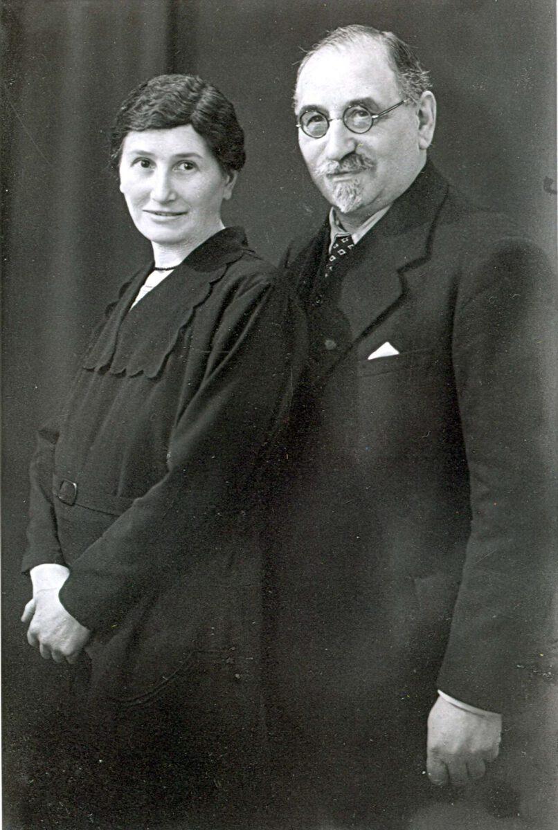 Marta und Max Weinberg, Quelle YVphotocollection