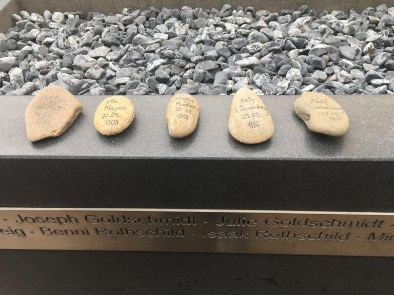 Gedenksteine März 2021 | commemoration stones March 2021