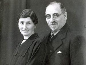 Martha und Max Weinberg; Quelle YVphotocollection