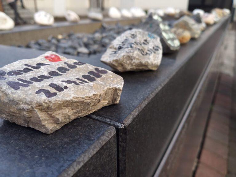 Geburtstag-Erinnerungssteine April | commemoration stones April 2021